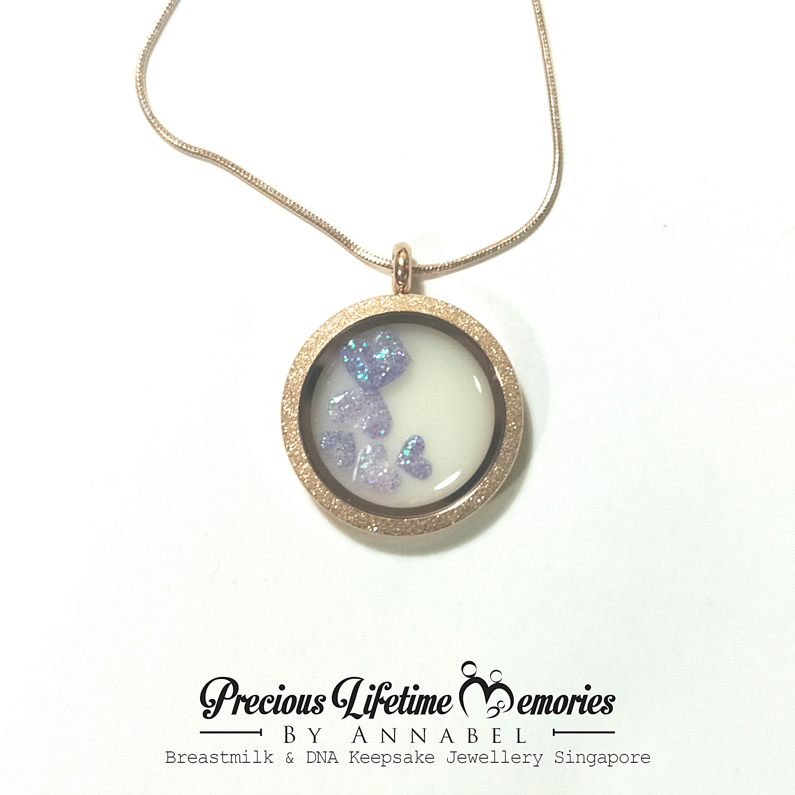memories necklace own mommy cheryl by diy for keepsake a your the sheeler create